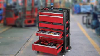 Werkzeuglagerungssystem schafft Ordnung