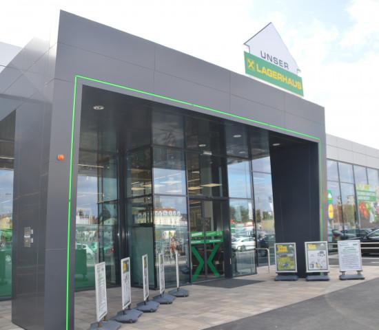 In dem Neubau in Korneuburg stehen 2.500 m² Verkaufsfläche zur Verfügung.