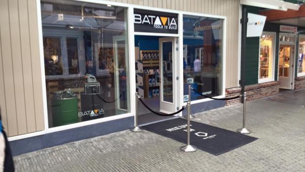 Der Batavia-Shop befindet sich im Outlet Center  Lelystad/Bataviastad in der Nähe von Amsterdam.