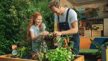 Obi unterstützt Bildungsprogramm Gemüseackerdemie