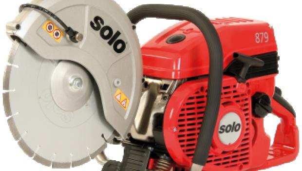 Solo - im Bild der Trennschleifer Solo 879 - meldet für das zurückliegende Geschäftsjahr ein Umsatzplus von sechs Prozent.