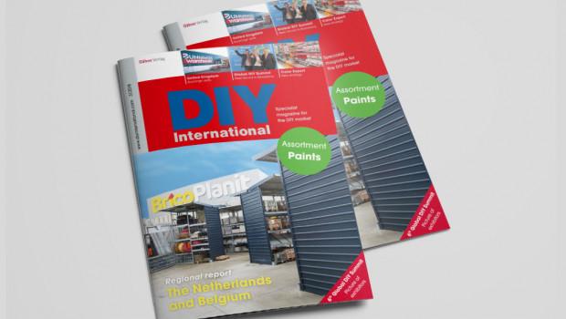 Die aktuelle Ausgabe von DIY International berichtet unter anderem über die Lage des DIY- und Gartenhandels in den Niederlanden und in Belgien.