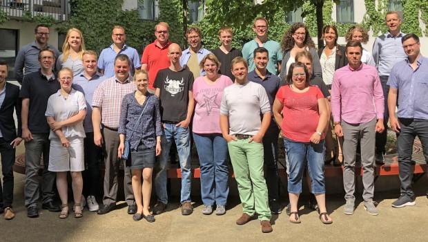 Jungunternehmer der NBB trafen sich Anfang Juni zum zweiten Mal in Berlin.