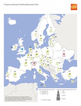 Umsatzprognose stationärer Einzelhandel. Quelle: GfK