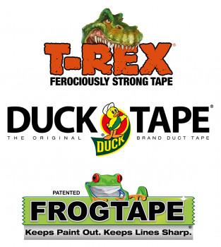 Kip, FrogTape, T-REX, DUCK