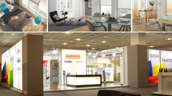 Gardinia präsentierte trendige Designs