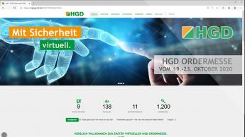 Mehr Anmeldungen zur virtuellen HGD-Ordermesse als zur analogen