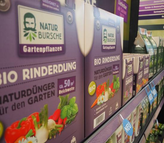 Naturbursche heißt eine neue Eigenmarke, die auf der Pro Garten & Tier Premiere hatte.