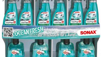 """Autopflegeprodukte mit der """"Frische des Ozeans"""""""