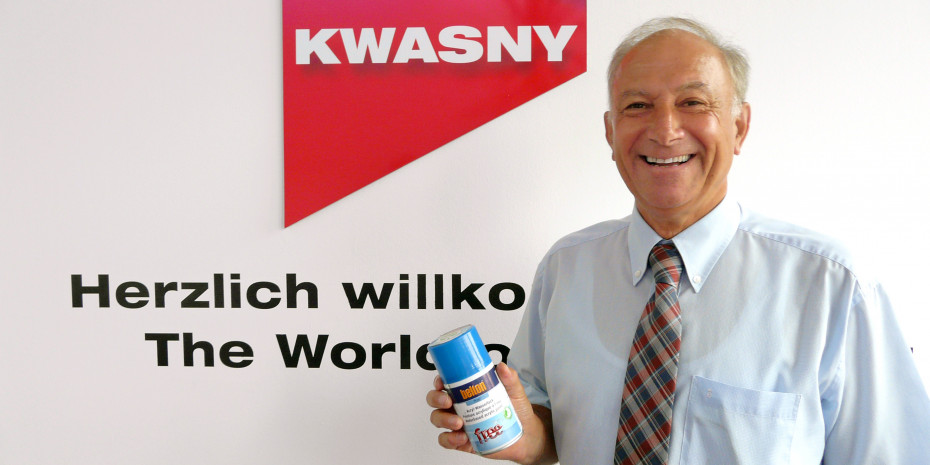 Dr. Karlheinz Dickerhof, Geschäftsführer der Peter Kwasny GmbH