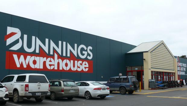 Bunnings betreibt rund 280 Standorte in Australien und Neuseeland.