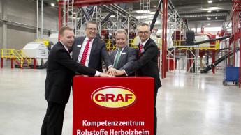 Umweltminister eröffnet Graf-Kompetenzzentrum Rohstoffe