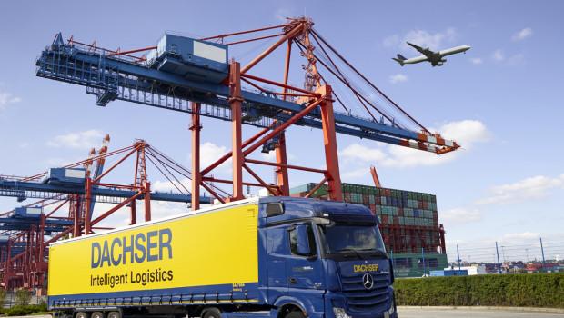 Komplettlösungen, die Landverkehr, Luft- und Seefracht kombinieren, sieht man bei Dachser als einen Grund für das Umsatzwachstum.