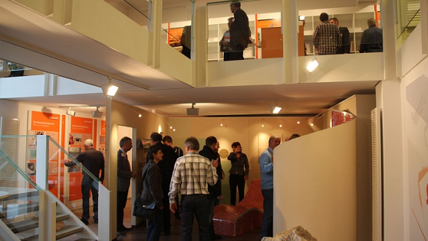 Mit neuem Konzept präsentiert sich das Fermacell Informations-Zentrum in Bad Grund nach der Modernisierung.