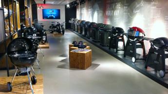 Weber multipliziert seinen Konzept-Store