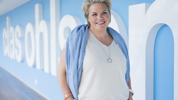 """""""Wir werden sowohl die Anzahl der Märkte als auch deren Ausrichtung schneller ändern"""": Vorstandsvorsitzende Lotta Lyrå."""