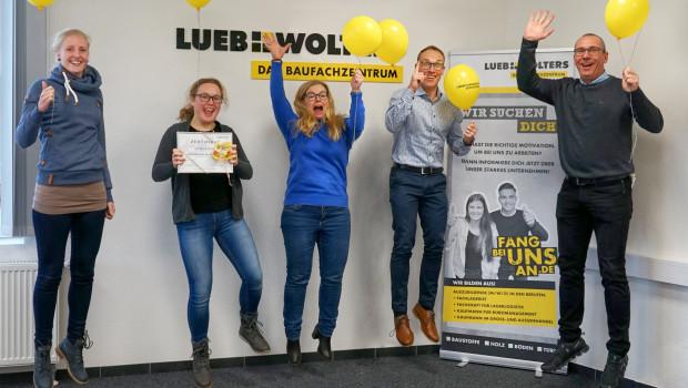 Freude im Hause Lueb + Wolters: Hannah Schultenerreichte 97 Punkte.