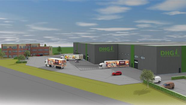 So soll der neue Unternehmenssitz von DHG aussehen, der in den kommenden Monaten in Wachtendonk entsteht.