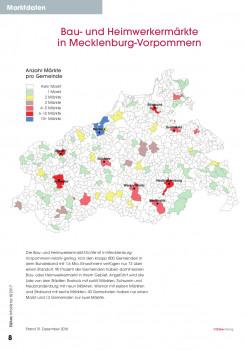 Bau- und Heimwerkermärkte in Mecklenburg-Vorpommern.