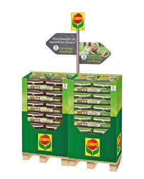 Compo, Bio-Rasenprodukte, Verbundplatzierung