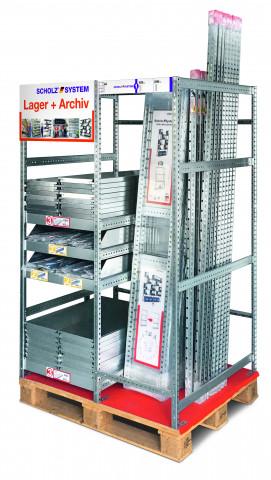 Scholz modulare Regalsysteme, Display