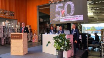 Hornbach feiert seinen 50. Geburtstag