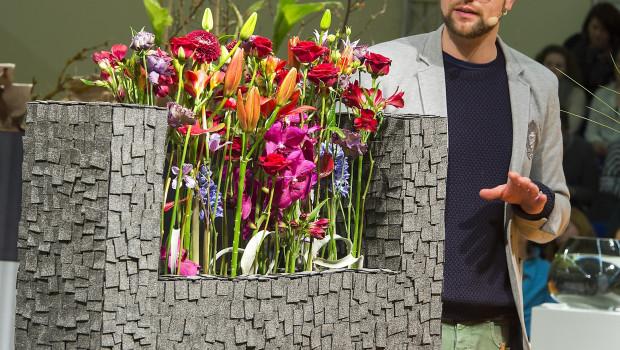 Marcel Schulz ist deutscher Meister der Floristen.