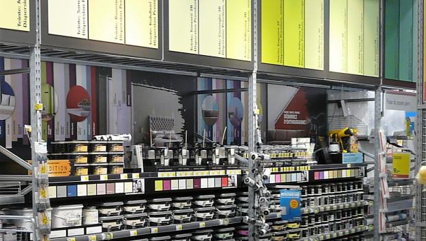 Die Umsätze aus dem DIY-Geschäft sind für die Farbenhersteller von großer Bedeutung.