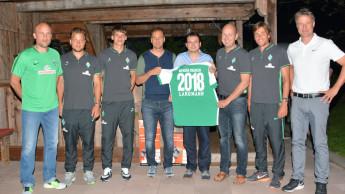 Landmann verlängert Sponsoring für Werder Bremen