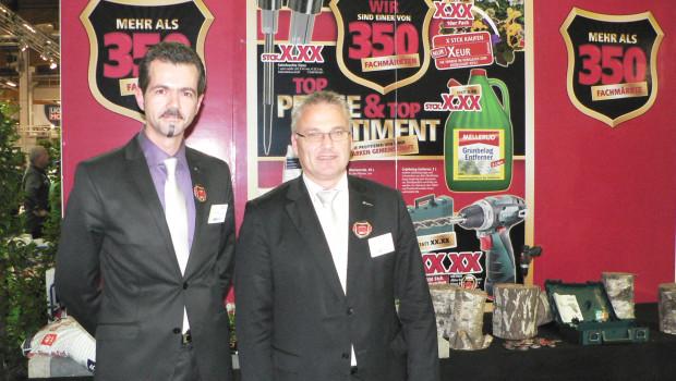 Martin Klebsch (r.) und Marcel Göllner