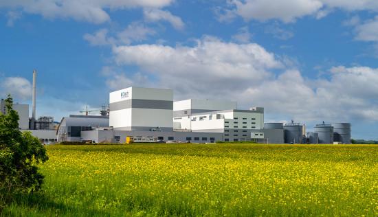 Das neue Ciech-Salzwerk in Staßfurt, Sachsen-Anhalt. Die polnische Gruppe hat 140 Mio. Euro in eine der modernsten Anlagen ihrer Art in Europa investiert. Mit der neuen Produktionsanlage wird Ciech rund 450.000 Tonnen Siedesalz pro Jahr produzieren können.