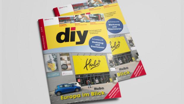 Die niederländische Hubo-Gruppe ist Titelthema der neuen Ausgabe des Fachmagazins diy.
