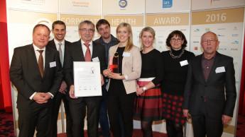 Ostendorf gewinnt Corporate Health Award