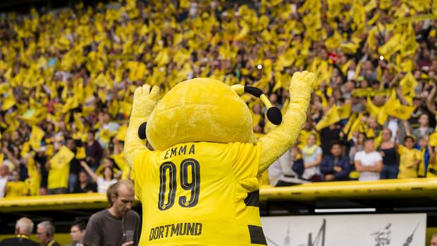 Der Gartengerätehersteller Stiga ist auch 2018/2019 Sponsor von Borussia Dortmund. Foto: Borussia Dortmund