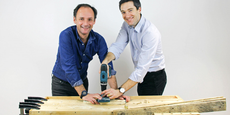 ManoMano-Gründer Christian Raisson und Philippe de Chanville (v. l.)