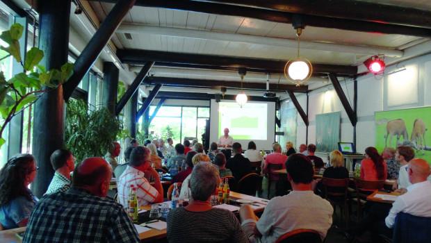 Die 24. ordentliche Jahreshauptversammlung der Ekaflor fand im Tiergarten Nürnberg statt.