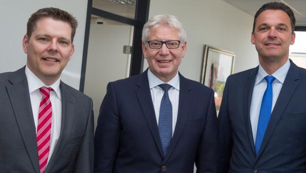 Die erweiterte Geschäftsführung der GWS v. l.: Georg Mersmann, Helmut Benefader, Udo Lorenz.