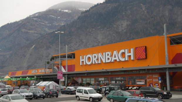 Hornbach wächst wieder umsatzmäßig.