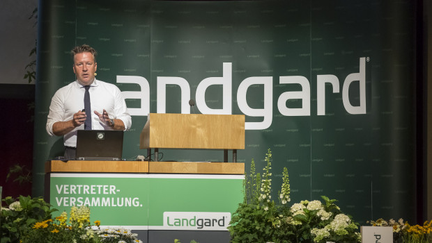 Der Vorstandsvorsitzende der Landgard, Armin Rehberg, konnte auf der Vertreterversammlung der Vermarktungsgenossenschaft gute Zahlen vorweisen.