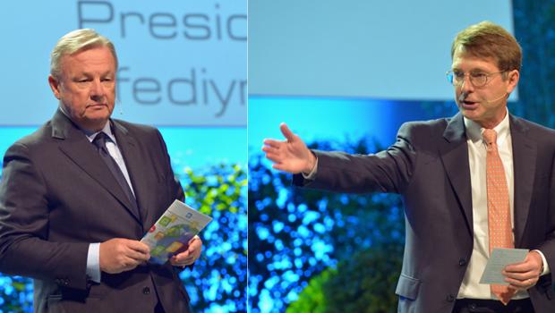 Sergio Giroldi (l.) und Reinhard Wolff haben sich in einem Statement direkt an die Teilnehmer und Sponsoren des Global DIY-Summit gewandt.