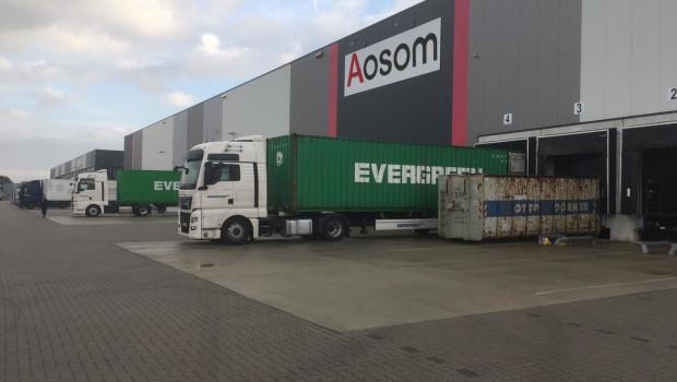Der Onlinehändler Aosom eröffnete jüngst sein zweites Logistikzentrum in Neu Wulmstorf.