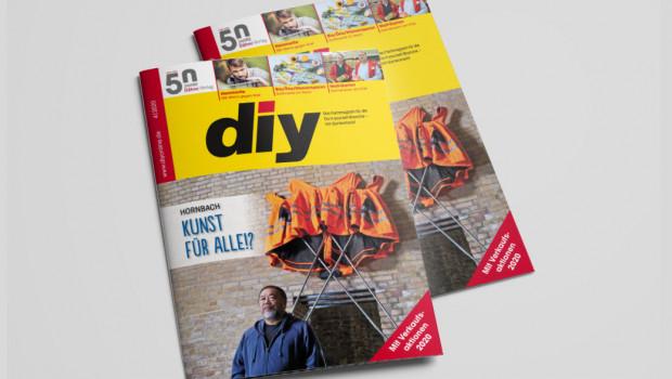 Die aktuelle Ausgabe von diy steht jetzt kostenlos als E-Magazin allen Interessierten zur Verfügung.