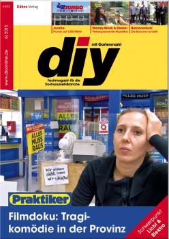 """Titelgeschichte des Juni-Heftes von diy ist die Filmdoku """"Hier sprach der Preis""""."""