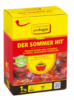 ProFagus, Buchen-Grill-Holzkohle Der Sommerhit
