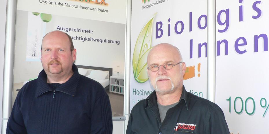Rüdiger Lang und Markus Link