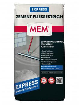 MEM, Zement-Fließestrich Express
