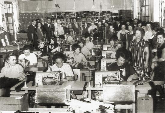 Ein Blick in die Vergangenheit: Die Doppler-Produktion in den 1950er-Jahren.