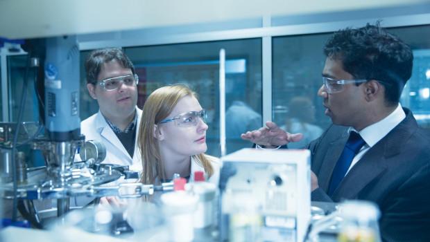Forschung und Entwicklung hat einen großen Stellenwert in der Freudenberg-Gruppe.