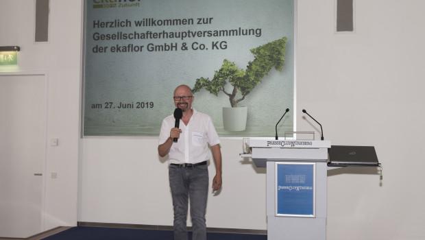 Zur 25. ordentlichen Jahreshauptversammlung des Einkaufsverbunds Ekaflor begrüßte Geschäftsführer Gerhard Twiling die angeschlossenen Händler in Nürnberg.