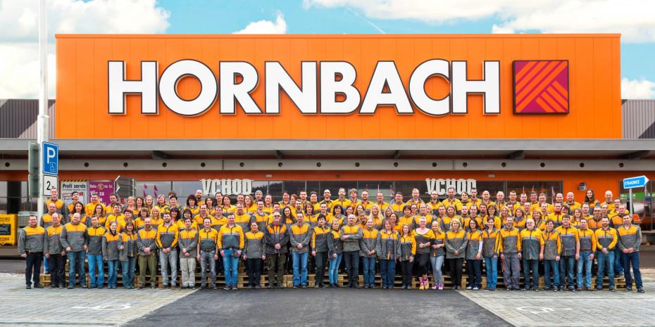 Hornbach Neueröffnung in Prag